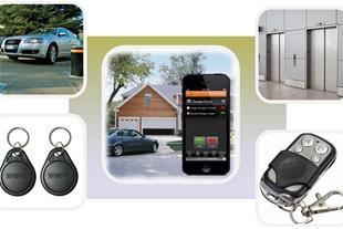 کنترل تردد و دسترسی به : خانه،  آسانسور، پارکینگ