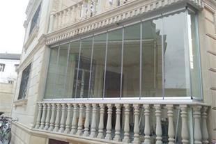 تولید و فروش بالکن شیشه ای کابین دوش درب انوماتیک