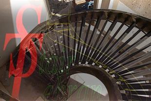مشاوره طراحی وساخت انواع پله های پیچ