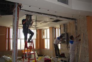 مرمت و بازسازی کلی ساختمان