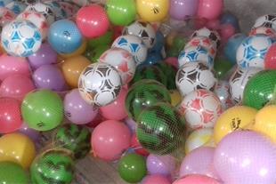 تولید و پخش توپ های بادی و پلاستیکی