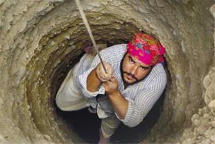 حفاری چاه در سراسر قم