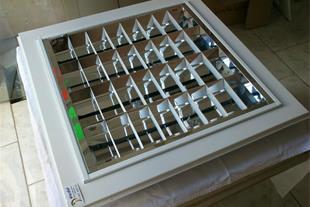 تولید کننده انواع قاب مهتابی سقفی (توان پرتو)