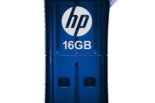 فلش مموری USB 2.0 اچ پی مدل v165w ظرفیت 16 گیگابای