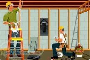 برق کشی و سیم کشی ساختمان-کلیه امور برقی
