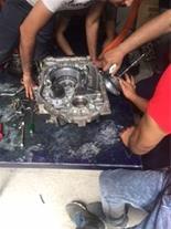 آموزش تعمیر گیربکس اتوماتیک بنز بی ام و ماکسیما