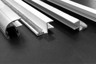 درزگیر آلومینیومی استوپی درب سکوریت و شیشه بالکن