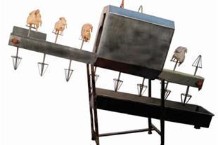 نقاله شستشوی لاشه مرغ