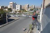 شرکت کار در ارتفاع با دسترسی با طناب بدون داربست