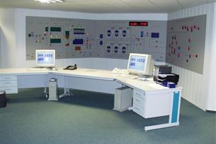 طراحی ، برنامه نویسی ، ساخت و اجرای اتاق کنترل