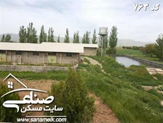 فروش 5.5هکتار زمین و باغ اتوبان زنجان قزوین کد763 - 1