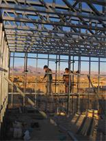 اجرای ساختمان با سازه ال اس اف