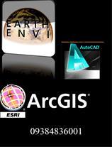 Envi, ArcGIS & AutoCAD