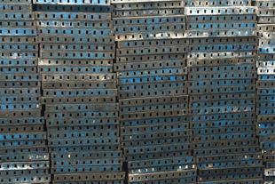 قالب فلزی بتن کارکرده ، فروش قالب فلزی بتن دست دوم