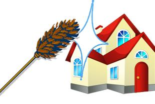 خدمات نظافتی در مشهد ، نظافت منزل ، شست و شوی نما - 1