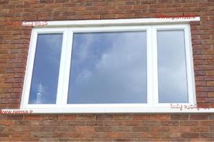 پنجره دوجداره upvc/آلومینیوم/توری/شیشه سکوریت