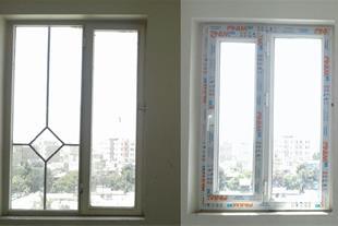 تولید و اجرای انواع درب و پنجره های دو جداره upvc