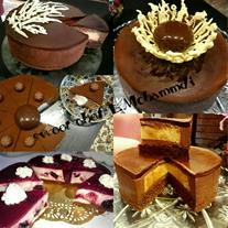 آموزش انواع چیز کیک و دسر و شیرینی های روز و مدرن - 1