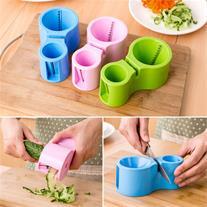 ابزار دوقلوی برش میوه و سبزیجات