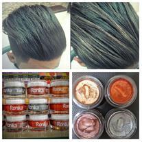 چسب موی رنگی دو کاره آیاز  محصولی جدید