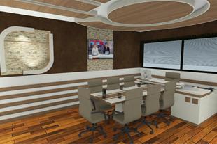 طراحی سه بعدی کابینت آشپزخانه و دکوراسیون