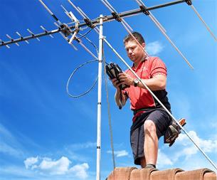 ارائه و نصب بهترین سیستمهای آنتن مرکزی در کرج - 1
