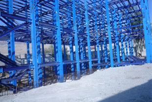 ساخت اسکلت های پیچ و مهره ای در یاسوج