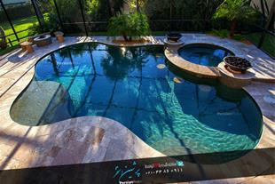 طراحی استخر شنا - ساخت استخر شنا - ساخت سونا
