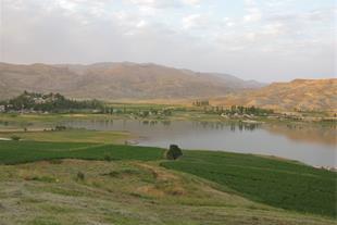 زمین کشاورزی ، ورسخوران مشرف به سد 2500متری