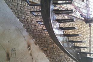 ساخت انواع پله گرد و صاف دکوراتیو