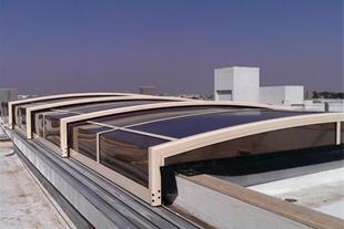 طراحی و اجرای انواع سقف متحرک دستی و اتوماتیک