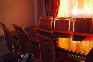 مبلمان أستیل ورق طلا،سرویس خواب سفید
