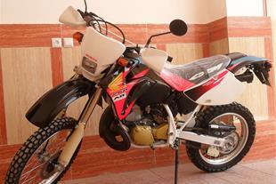 فروش یک دستگاه honda crm250 ar مشکی قرمزانجین طلا