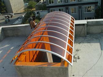 پلی کربنات - کارتن پلاست - پلکسی - طلق -فایبر گلاس - 1