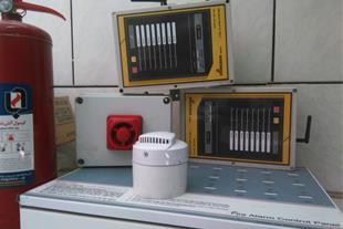 نصب سیستم اعلام حریق و اطفاء وایرلس وسیمی