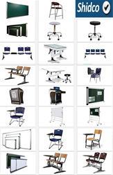 نمایندگی رسمی تجهیزات آموزشی شیدکو ، میز صندلی - 1