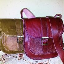 دوخت انواع کیف چرمی طبیعی یا مصنوعی