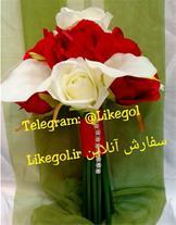 فروش دسته گل عروس در فروشگاه لایک گل