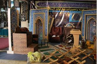 ساخت نمازخانه ، محراب ، کتیبه ، تریبون - 1