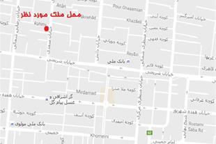 ده متر مغازه تجاری ابتدای خیابان سعدی نجف آباد
