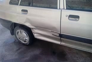 انجام صافکاری حرفه ای انواع خودرو ، صافکاری قربانی