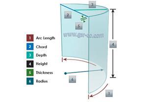 شیشه خم، پلکسی گلاس ،77426115 ، اسپایدر، تراش شیشه