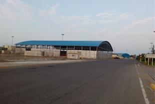 ساندویچ پانل ، اجرای پوشش سقف سالن صنعتی
