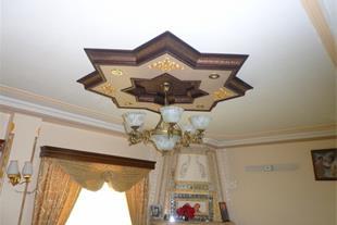 گل سقفی ، جایگزین گچ بری ، بابل سقف