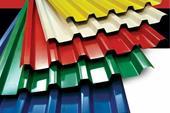 پوشش سقف فلزی طرح سفال شرکت تک نما