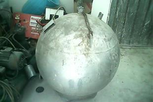 کپسول گاز مایع 220 کیلویی ضد انفجار