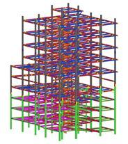 سازه فولادی تکلا استراکچرز شاپ دراوینگ