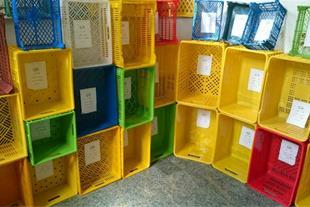 تولید سبد پلاستیکی و قفس حمل مرغ زنده