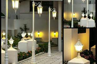 صنایع روشنایی شب تاب ، چراغ پارک