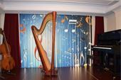 آموزش چنگ (هارپ) در آموزشگاه موسیقی آزاده